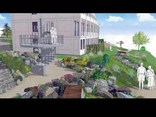 Betreuung Masterarbeit 2 Hill Garden