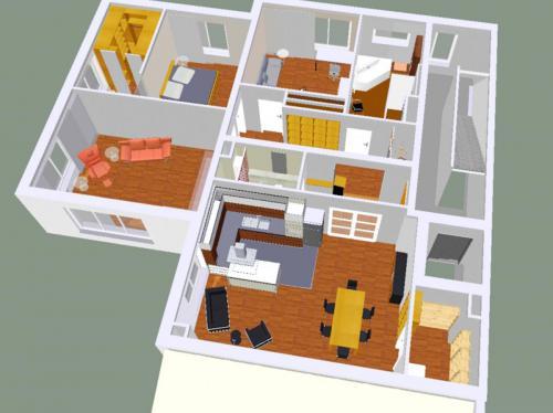 Eine Wohnung 2