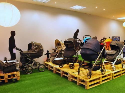 Laden für Kinderwagen und Zubehör